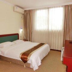 Отель Guangdong Oversea Chinese Hotel Китай, Гуанчжоу - отзывы, цены и фото номеров - забронировать отель Guangdong Oversea Chinese Hotel онлайн комната для гостей фото 3