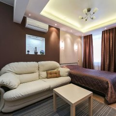 Апартаменты City Apartments Belorusskaya комната для гостей фото 5
