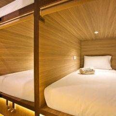 Capsule Pod Boutique Hostel Кровать в общем номере фото 15