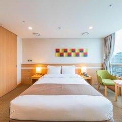 Tmark Hotel Myeongdong 3* Номер Делюкс с различными типами кроватей фото 8