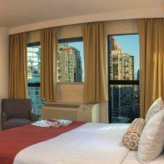 Отель GEC Granville Suites Downtown 3* Стандартный номер с различными типами кроватей фото 2