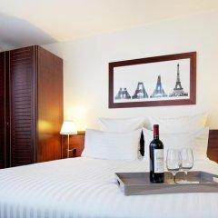 Отель Hôtel Concorde Montparnasse 4* Улучшенный номер с различными типами кроватей фото 2