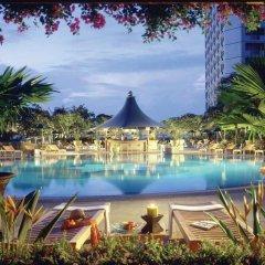 Отель Fairmont Singapore Сингапур бассейн фото 2