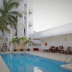 Отель Terracaribe Hotel Мексика, Канкун - отзывы, цены и фото номеров - забронировать отель Terracaribe Hotel онлайн бассейн фото 4