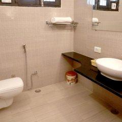 Отель Pearl Of Taj-Homestay 3* Номер Делюкс с различными типами кроватей фото 18