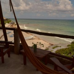 Отель Posada del Sol Tulum 3* Номер Делюкс с различными типами кроватей фото 13