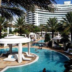 Отель Fontainebleau Miami Beach 4* Стандартный номер с различными типами кроватей фото 6