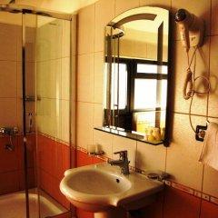 City Hotel Tirana ванная