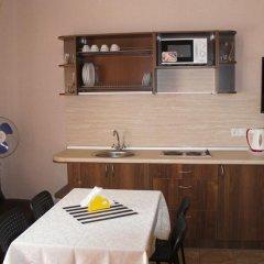 Hotel na Turbinnoy 3* Семейная студия с двуспальной кроватью фото 5