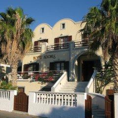 Отель Adonis Греция, Остров Санторини - отзывы, цены и фото номеров - забронировать отель Adonis онлайн приотельная территория