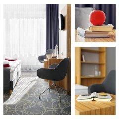 Отель City-herberge Dresden 3* Номер Комфорт с двуспальной кроватью фото 3