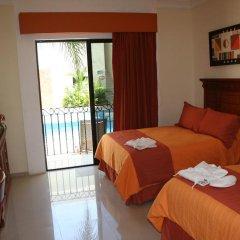 Отель Gran Real Yucatan 3* Стандартный номер с разными типами кроватей фото 6