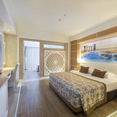 Crystal Sunset Luxury Resort & Spa Турция, Сиде - 1 отзыв об отеле, цены и фото номеров - забронировать отель Crystal Sunset Luxury Resort & Spa - All Inclusive онлайн комната для гостей фото 5
