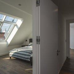 Отель Penthouse Stephansplatz Люкс с различными типами кроватей фото 48