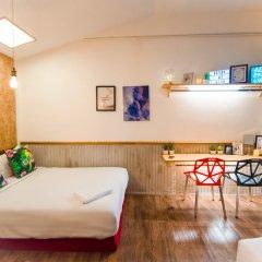 Отель Glur Bangkok Люкс повышенной комфортности разные типы кроватей фото 24