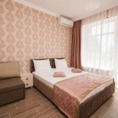 Гостиница Кристалл Стандартный номер двуспальная кровать фото 15