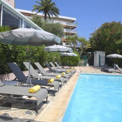 Отель The Originals des Orangers Cannes (ex Inter-Hotel) Франция, Канны - отзывы, цены и фото номеров - забронировать отель The Originals des Orangers Cannes (ex Inter-Hotel) онлайн бассейн
