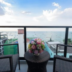 Отель Deep Blue Z10 Pattaya Стандартный номер с различными типами кроватей фото 19