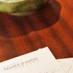 Отель France D'Antin Opera Париж сауна