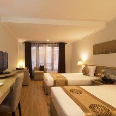 Vien Dong Hotel 3* Улучшенный номер с различными типами кроватей фото 5