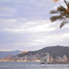 Отель L'Escala II Испания, Кульера - отзывы, цены и фото номеров - забронировать отель L'Escala II онлайн пляж