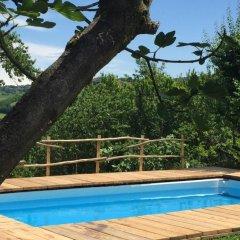 Отель Bacialupo Bed&Breakfast Сан-Мартино-Сиккомарио бассейн