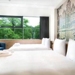 Citiez Hotel Amsterdam 3* Стандартный семейный номер с двуспальной кроватью