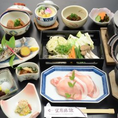 Отель Mochiduki Ryokan Минамиогуни питание фото 2