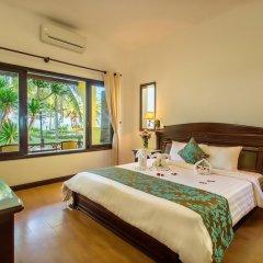 Отель Agribank Hoi An Beach Resort 3* Люкс повышенной комфортности с различными типами кроватей фото 5
