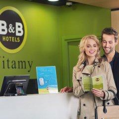 B&B Hotel Warszawa-Okęcie интерьер отеля фото 3