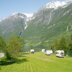 Отель Oldevatn Camping спортивное сооружение