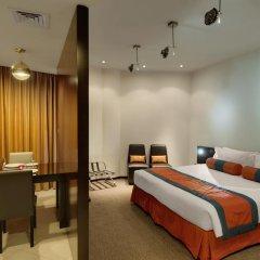 Signature Hotel Apartments & Spa 4* Улучшенная студия с различными типами кроватей фото 3