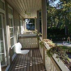 Отель Aparthotel Wooden Villa балкон