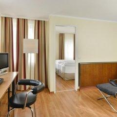 Отель NH Muenchen City Süd 3* Стандартный номер с различными типами кроватей фото 3