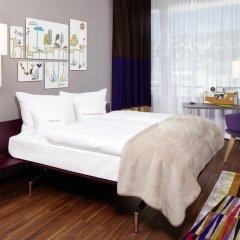 25hours Hotel Zürich West 4* Номер Silver с двуспальной кроватью фото 17