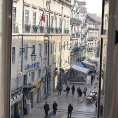 Отель Pensão Flor da Baixa балкон