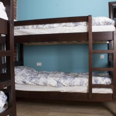 Хостел Давыдов Кровать в мужском общем номере с двухъярусной кроватью фото 3