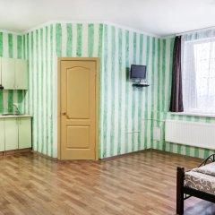 Гостиница Колумб Студия разные типы кроватей фото 25