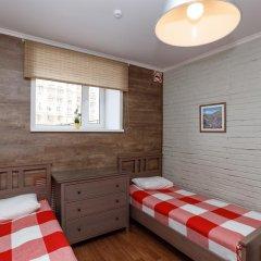 Хостел Кукуруза Стандартный семейный номер с разными типами кроватей (общая ванная комната) фото 2