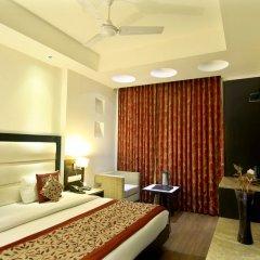 Отель The Prime Balaji Deluxe @ New Delhi Railway Station 3* Номер Делюкс с различными типами кроватей фото 6