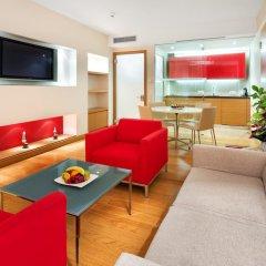 Отель Andel's by Vienna House Prague 4* Стандартный номер с различными типами кроватей