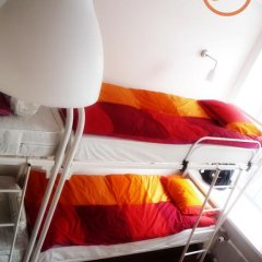 Хостел Online Кровать в общем номере с двухъярусной кроватью фото 30