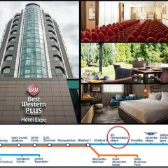 Best Western Plus hotel Expo городской автобус