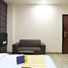 Отель FabHotel Aksh Palace Golf Course Road 3* Номер Делюкс с различными типами кроватей фото 7