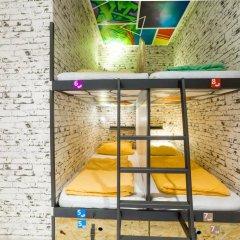 Chillout Hostel Zagreb Кровать в общем номере с двухъярусной кроватью фото 23