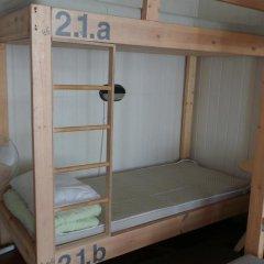 Хостел Архитектор Кровать в общем номере с двухъярусной кроватью фото 34