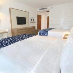 Отель Holiday inn Acapulco La Isla 3* Люкс с различными типами кроватей фото 2