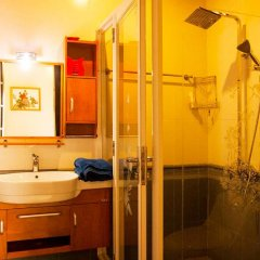 Отель Hoa Mau Don Homestay ванная