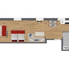 Отель Avenue A1 Улучшенные апартаменты с различными типами кроватей