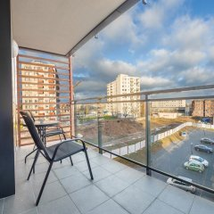 Апартаменты Apartinfo Szafarnia Apartments балкон